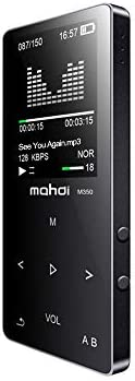 Mahdi 8GB Bluetooth MP3 Player HiFi Metal Music Player Loseless APE FLAC Audio Player Built-in Speaker FM Radi