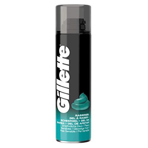 Gillette Piel Sensible - Gel Afeitado Hombre 200 ml