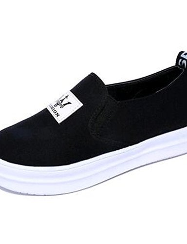 ZQ Scarpe Donna-Mocassini-Tempo libero / Casual-Creepers-Plateau-Di corda-Nero / Bianco , white-us9 / eu40 / uk7 / cn41 , white-us9 / eu40 / uk7 / cn41 black-us5.5 / eu36 / uk3.5 / cn35
