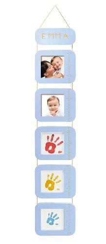 Baby art height print chart metro da appendere, personalizzabile con fotografie del bambino