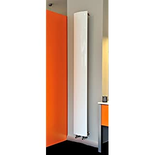 Accuro Korle Korlea Vertical Designer Radiator (White)