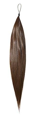 American Dream le Rajout Capillaire Cheveux Humains Couleur 6 Brun Foncé Cendré 18