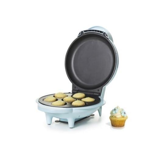Lakeland Electric 7 Hole Mini Cupcake Maker Blue