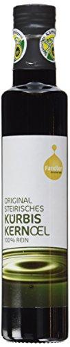 Fandler Original steirisches Kürbiskernöl g.g.A., 1er Pack (1 x 250 ml) (Nicht Teuer, Zeitschriften)
