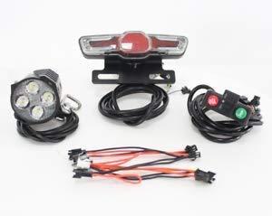 HYLH 24 36 V 48 V 60 V Ebike elektrische Fahrrad Scheinwerfer Rückleuchten LED Bremsleuchte Elektrische Fahrrad Licht