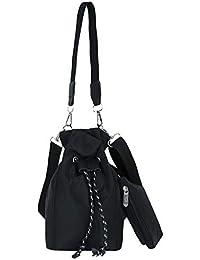Luckycat Bolso de Mano Shopper Mujer - Pana Snap Fastener cierre Oxford bolso de hombro bolsa