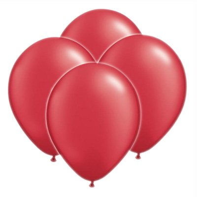 Metallic Cherry Rot Ballon Pack (100 Pack) (xbp201/100) -