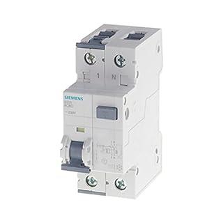 SIEMENS - 5SU13566KK16 FI/LS-Schalter, 6 kA, 1P+N, Typ A, 30 mA, B-Char, In: 16 A, Un AC: 230 V