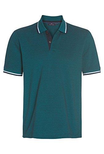 PAUL R.SMITH Poloshirt mit farbigen Akzenten, Herren T-Shirt,Polo,kurzarm,Pique,Freizeit,Männer,basic Türkis