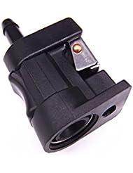 Motor de Barco Conector hembra de la línea de combustible 6Y1-24305-06-00 para Yamaha Motor fuera de borda, 6mm, Femal , Lado del Tanque de Combustible