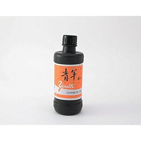 Caligrafía China Black Ink 120ml - uso diario, Japonés Sumi-e