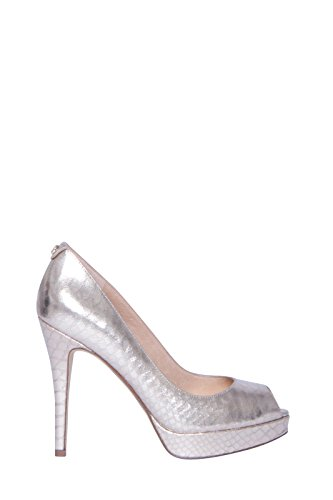 Michael Kors  Mk-flex Kitten Pump, Damen Pumps Gold gold Grau