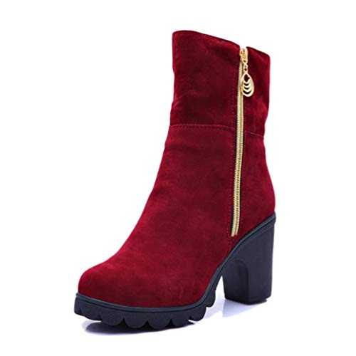 JRenok Frauen Schnee Wedges Stiefel Plüsch Fell Lässig Winter Herbst Warm Mutter Damen Studenten Baumwolle Weiblich Turned Over Schuhe
