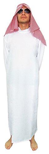 Preisvergleich Produktbild Scheich Said Kostüm Gr. 52 - Tolle Orient Verkleidung Wüstenprinz oder Araber