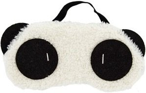 Original VB Mascherina per occhi, motivo: panda