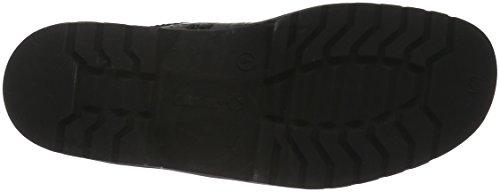 Ganter Damen Ellen, Weite G Kurzschaft Stiefel Schwarz (schwarz 0100)