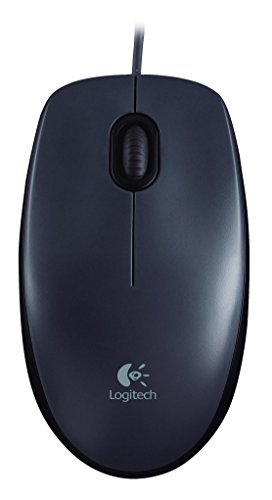 Logitech M90 USB Mouse (Dark Grey)