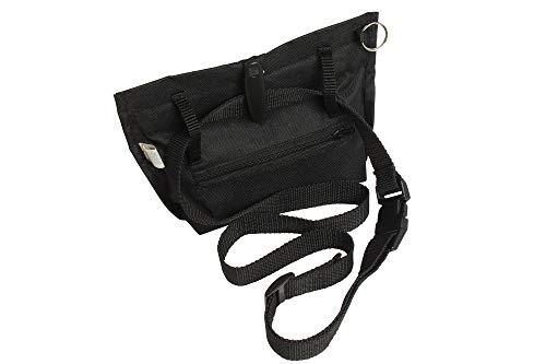 Karlie Trim Treat Futtertasche, 19 x 22 cm, schwarz