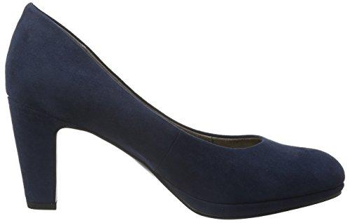 Tamaris Damen 22420 Pumps Blau (Jeans 832)
