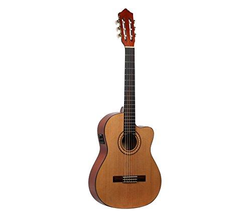 Guitare flamenca electrificada Molina cgflceq