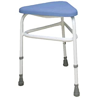 NRS Healthcare Padded Corner Shower Chair (Eligible for VAT relief in the UK)