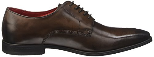 Base London Herren George Stiefel Marron (Burnished Cocoa)
