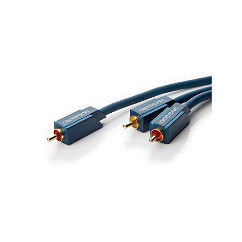 bwoofer-Kabel, Y-Cinch-Kabel für Aktiv-Subwoofer mit Stereo-Eingang ()