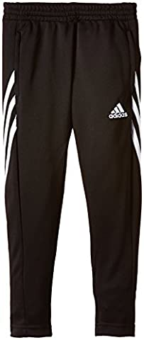 adidas Sereno Pantalon Garçon Noir/Blanc FR : 12 ans (Taille Fabricant : 152)