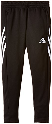 adidas Boys Sereno 14 Training Pants - Black/White, Size 140