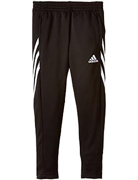 adidas Hose Sereno 14 Pantalón de Joven, Negro/Blanco, 10 Años (Talle Fabricante: 140)