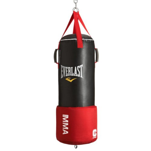 Everlast Omni Strike Punch Bag - Black, 3 Ft