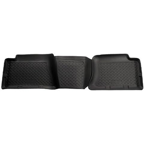 Husky per immondizia Custom Fit per secondo seggiolino, colore: nero, per selezionare Chevrolet Silverado/Sierra modelli (GMC colore: nero) per Husky