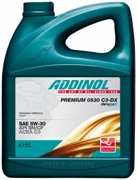 Addinol PREMIUM 5W-30 C3-DX Motorenöl, 5 Liter