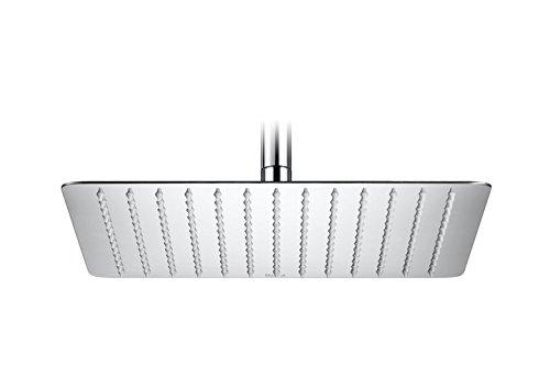 Roca A5B2850C00 – Rociador de pared o techo orientable de acero inoxidable cromado. no incluye kit/brazo soporte a pared / techo