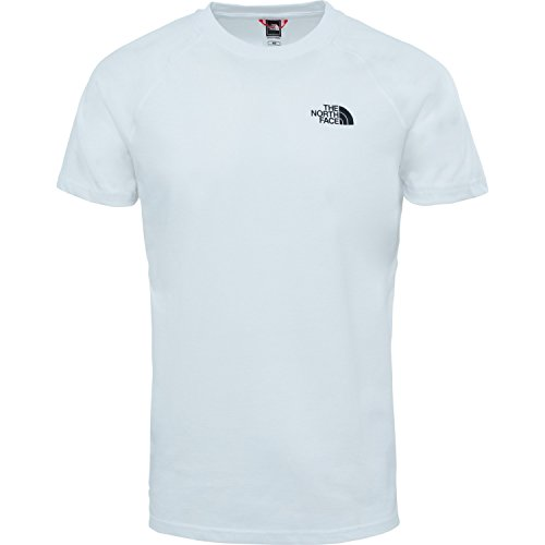 The North Face Herren North Face T-Shirt TNF White TNF Blue