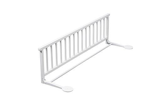 Barrera de cama de madera blanca - Combelle