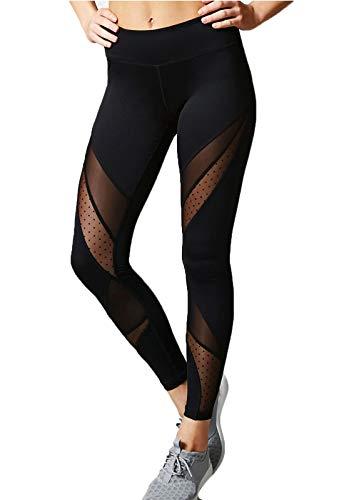 FITTOO Mallas Leggings Mujer Yoga Alta Cintura Elásticos