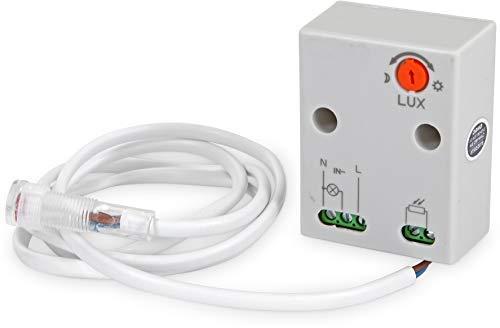 Aufputz Mini Aussen Dämmerungssensor 230V IP65 2300W - LED geeignet ab 1W -