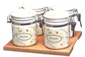 Tognana Dolce casa Floreal Home Legno Ceramica Metallo