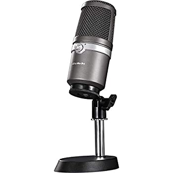 avermedia usb microphone high qquality recording cardioid pattern plug and play usb2 0 none. Black Bedroom Furniture Sets. Home Design Ideas