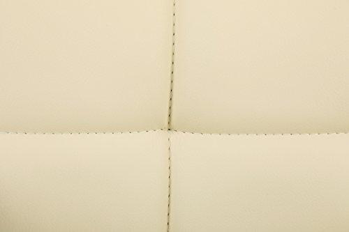 Songmics 2 x Barhocker mit Armlehnen Lehne beige - 9