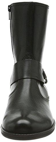 GaborGabor Comfort - Biker imbottiti a gamba corta Donna Nero (Black Leather)
