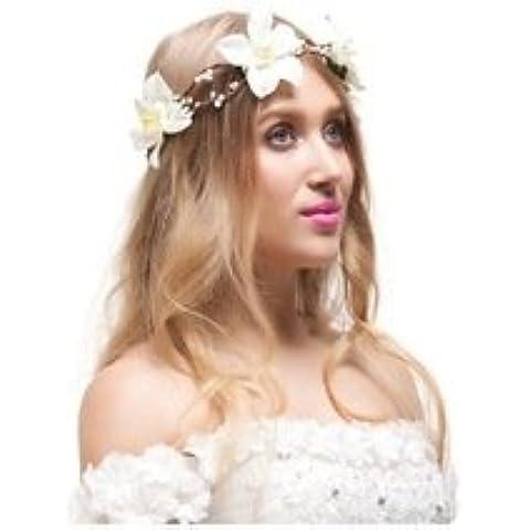 Nueva Nueva arrivel 6pcs cereza de seda artificial 4cm Rhinestone de la perla Rose flores para la boda de la guirnalda de la casa de Scrapbooking del arte de la flor roja