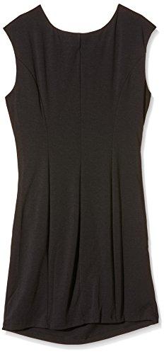 Kaffe India Slim Dress, Robe Femme Noir - Schwarz (Black deep 50600)