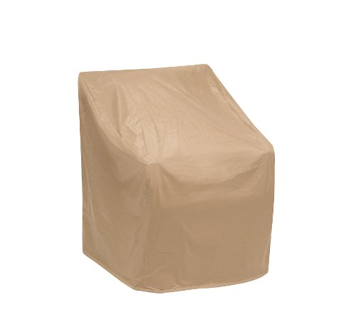 Protective Covers Weatherproof Chair Cover, 35 Inch x 29 Inch, Tan - 1162-TN