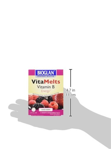 Bioglan Vitamelts Vitamine B Énergie Boîte de 30 Comprimés