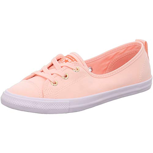 Converse Chuck Taylor All Star Ballet Lace 564313C Damen-Schuhe Washed Coral Gr. 40.5 (US 9)