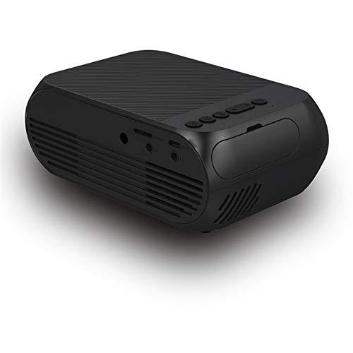 Home Mini 1080PLED Mini Portable Projector Home Theater Game Projector black