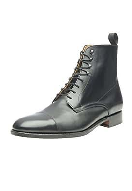TOP Stiefeletten Damenschuhe Used Optik Echtleder Boots 8113 Braun 39