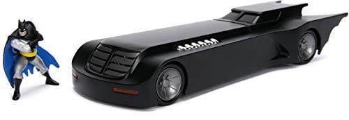 Jada Toys 1:24 Scale Animated Series Batmobile W/Batman Figure